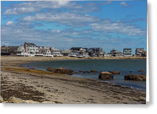 Museum Beach Scituate Massachusetts Greeting Card