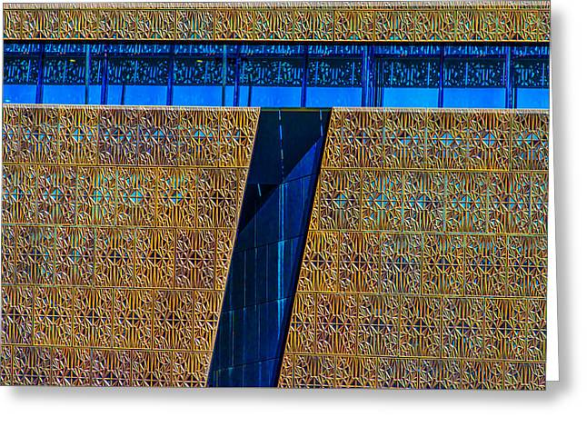 Museum Of African American History Greeting Card by Paul Wear
