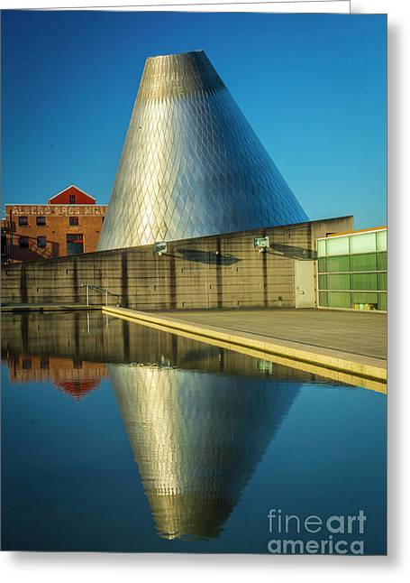 Museum Of Glass Tower Greeting Card
