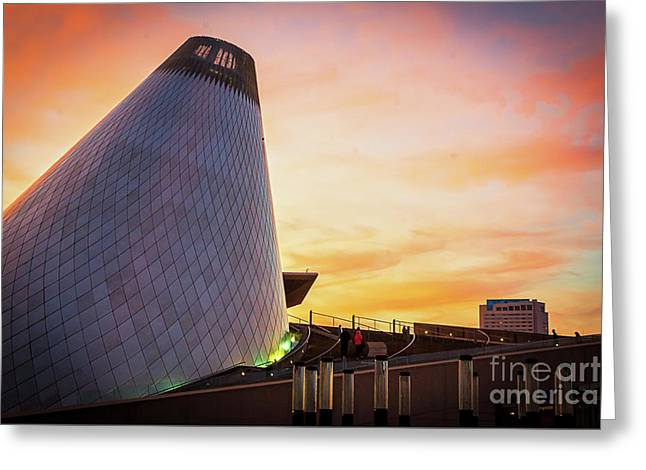 Museum Of Glass Tower#2 Greeting Card