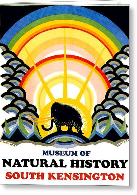Museum Of Natural History, South Kensington Greeting Card
