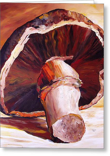 Mushroom Still Life Greeting Card