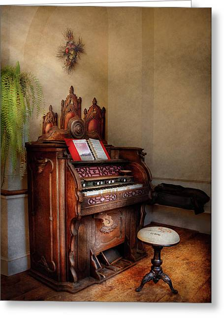 Music - Organ - Hear The Joy  Greeting Card
