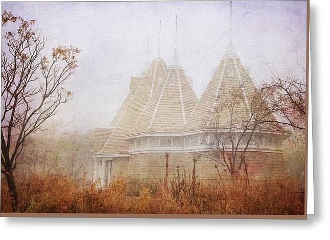 Greeting Card featuring the photograph Music And Fog by Heidi Hermes