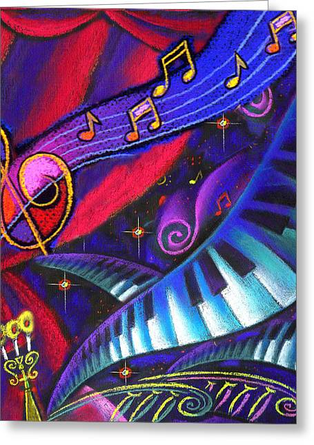 Music And Harmony Greeting Card by Leon Zernitsky