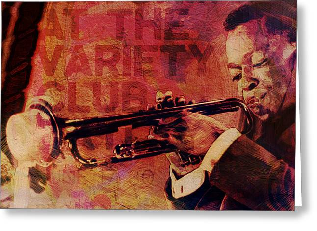 Music Icons - Louis Armstrong I Greeting Card