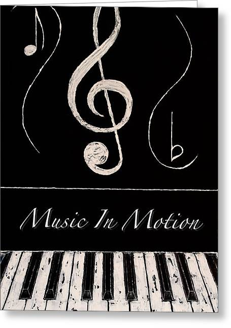 Music In Motion Greeting Card