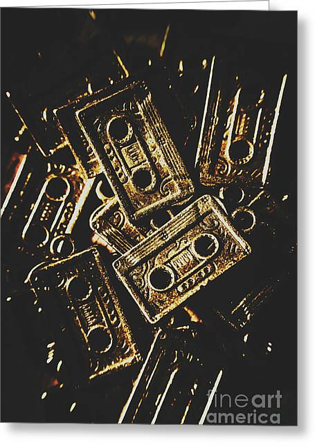 Music Nostalgia Greeting Card by Jorgo Photography - Wall Art Gallery