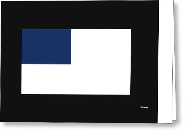 Greeting Card featuring the digital art Music Notes 14 by David Bridburg