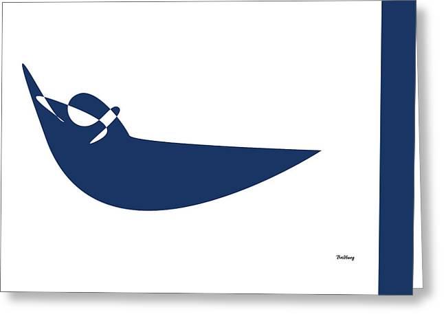 Greeting Card featuring the digital art Music Notes 19 by David Bridburg