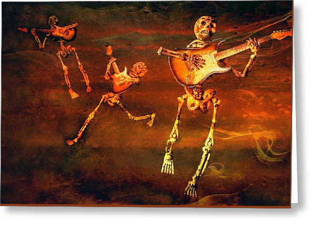 Greeting Card featuring the photograph Music Of The Souls by Jeff Gettis