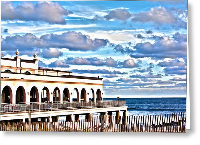 Kevin Greeting Cards - Music Pier Greeting Card by Kevin  Sherf