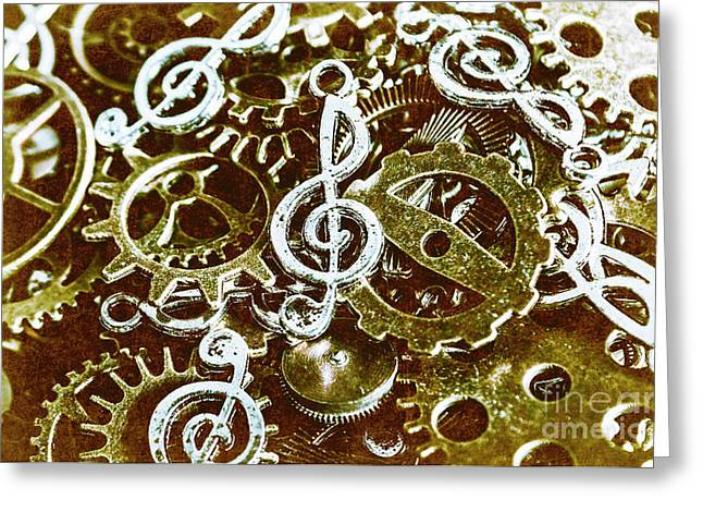 Music Production Greeting Card