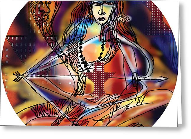 Music Shiva Greeting Card