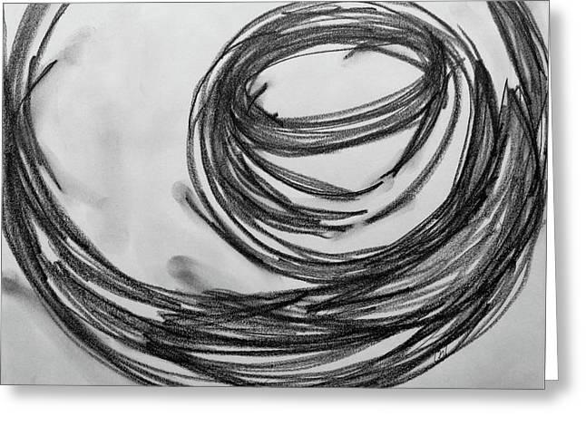 Music Sketch Study Leon Bridges Greeting Card