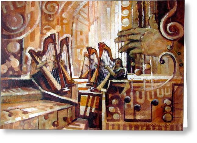 Music Within Greeting Card by Richard McDiarmid