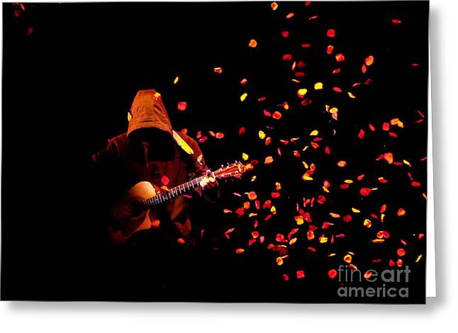 Musical Appirition Greeting Card by Clayton Bruster
