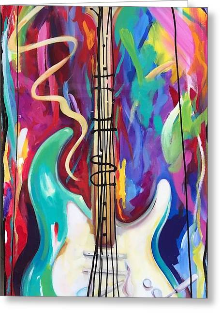 Musical Whimsy  Greeting Card