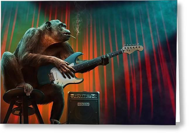 Music_animal Greeting Card
