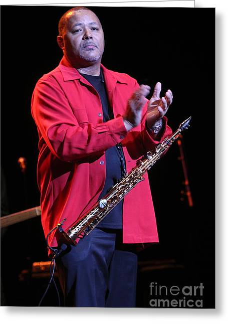 Musician Najee Greeting Card by Concert Photos
