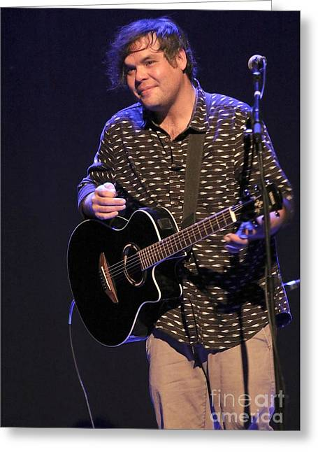 Musician Will Bradford  Greeting Card by Concert Photos