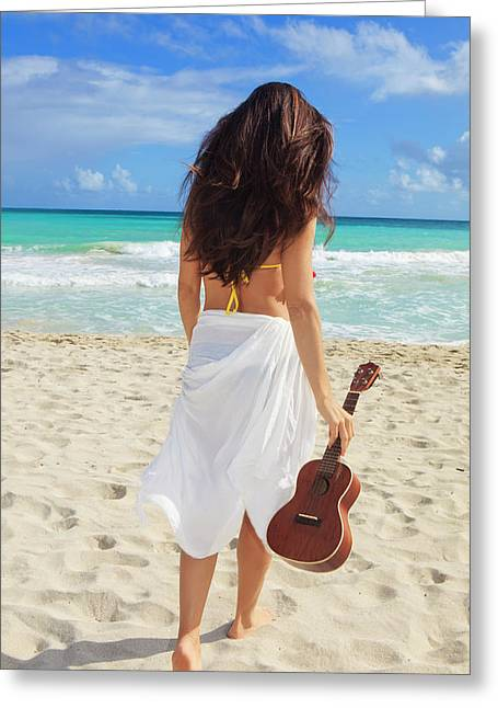 Musicians Paradise Greeting Card