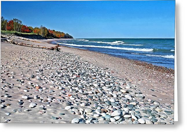 Muskallonge Beach Greeting Card
