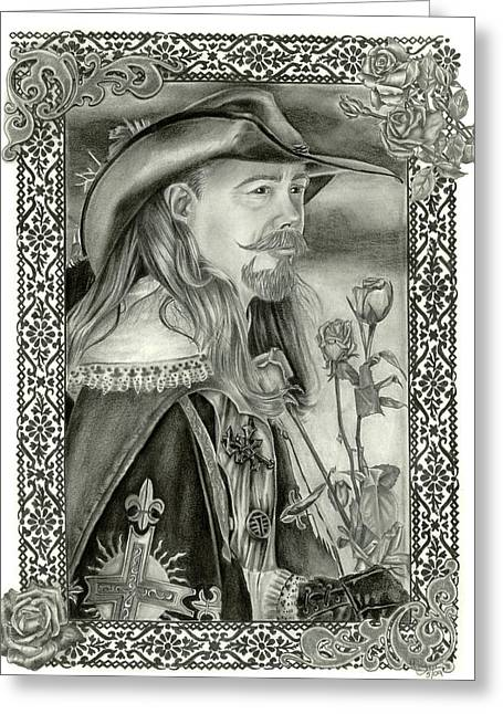 Dawnstarstudios Greeting Cards - Musketeer Greeting Card by Dawnstarstudios