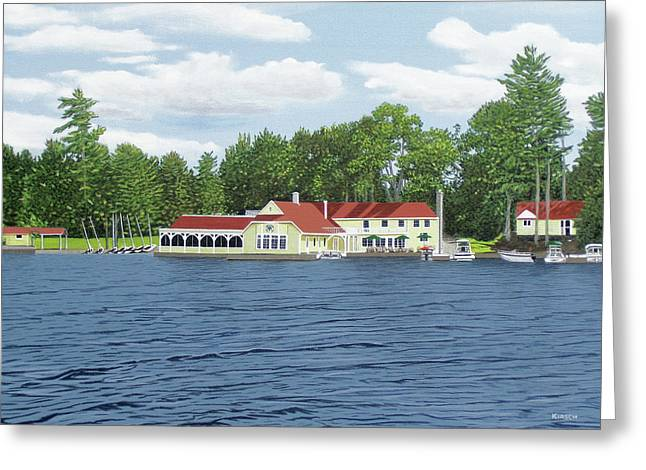 Muskoka Lakes Golf And Country Club Greeting Card