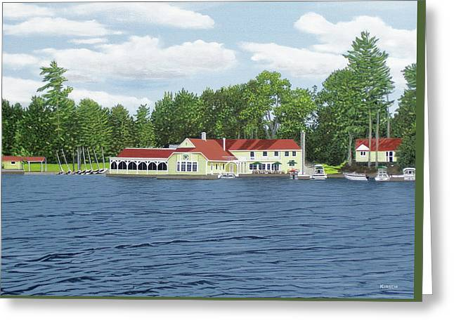 Muskoka Lakes Golf And Country Club Greeting Card