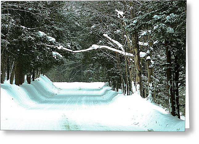 Muskoka Wonderland Greeting Card