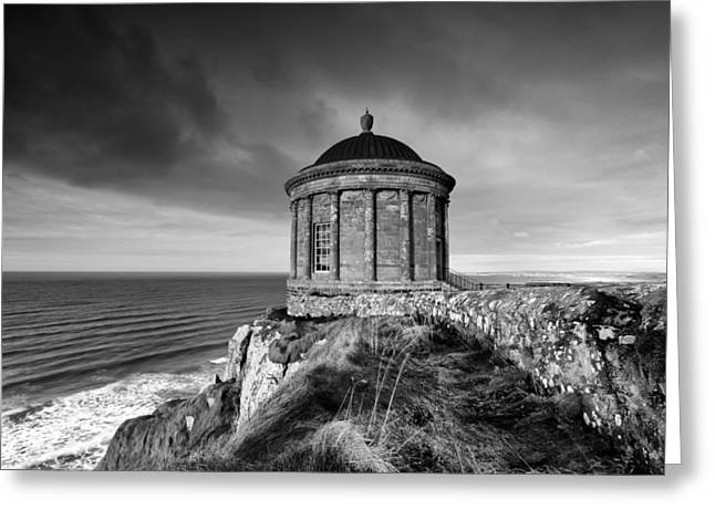 Mussenden Temple Greeting Card