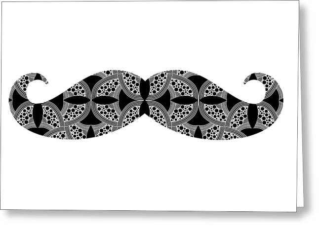 Mustache Tee Greeting Card