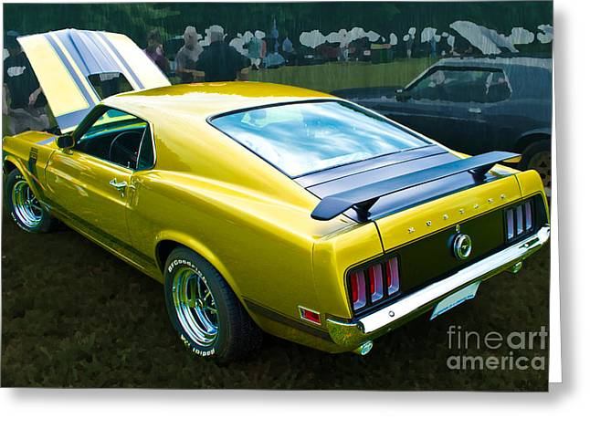 Mustang Boss 302 Greeting Card