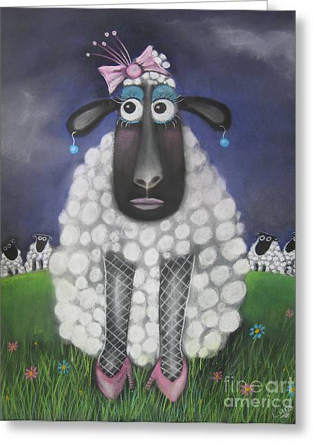 Mutton Dressed As Lamb Greeting Card