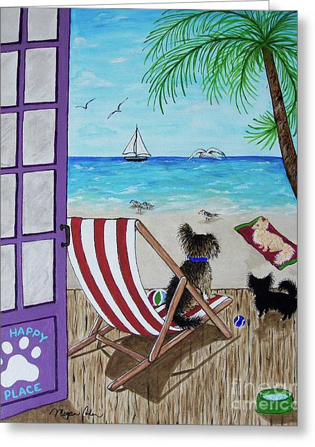 My 3 By The Sea Greeting Card