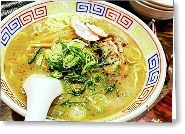 My Absolute Fave Dish!! Ramen!! Greeting Card