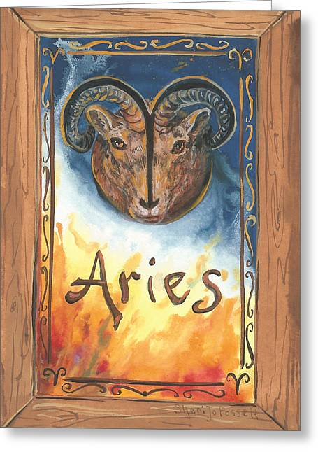 My Aries Greeting Card