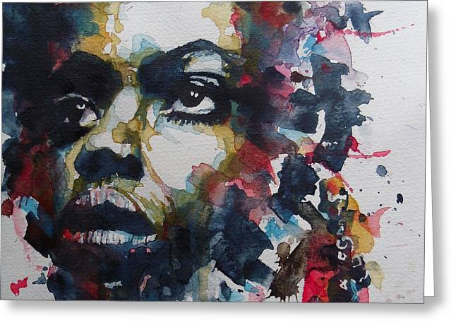 My Baby Just Cares For Me  Greeting Card by Paul Lovering