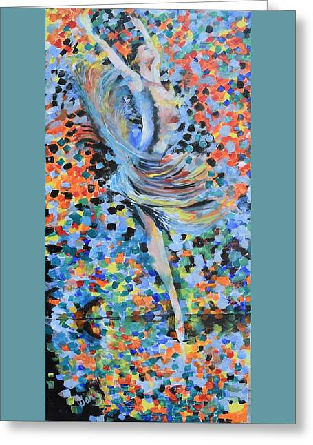 My Ballerina Greeting Card by Gary Smith