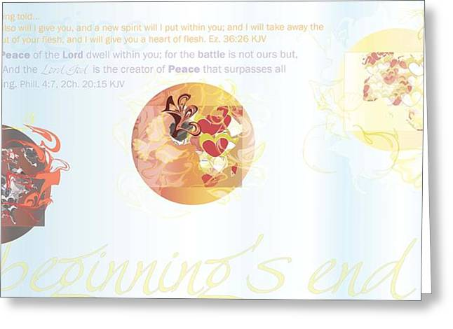 My Beginning Greeting Card by Affini Woodley