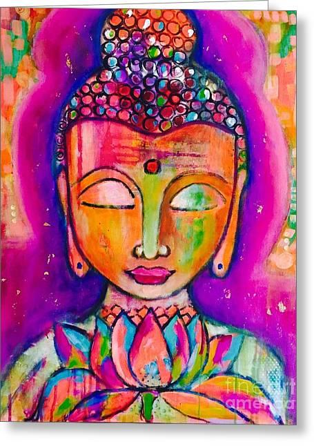 My Buddha  Greeting Card