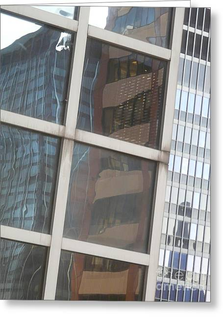 My Building Or Yours Greeting Card by Donna McLarty
