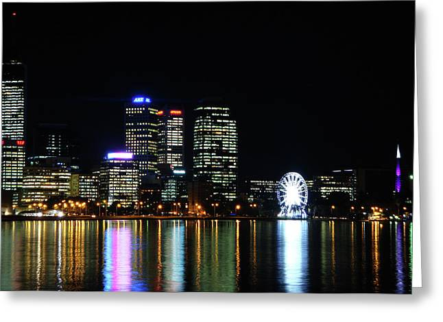My City  Perth Greeting Card by Kelly Jones