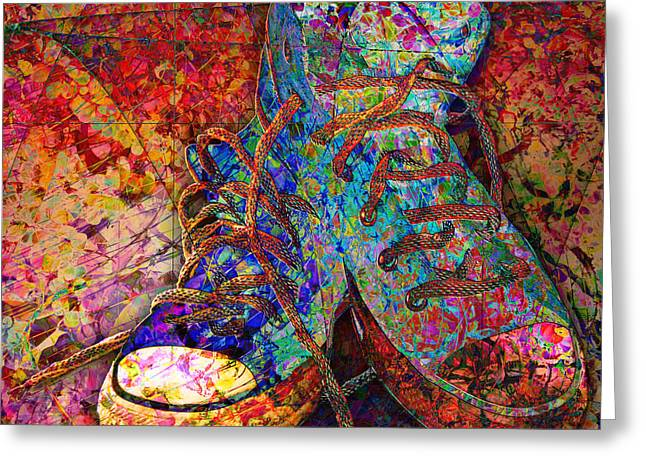My Cool Sneakers Greeting Card