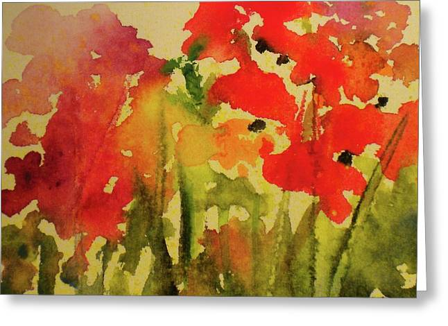 My Cottage Garden At Silver Vista Greeting Card