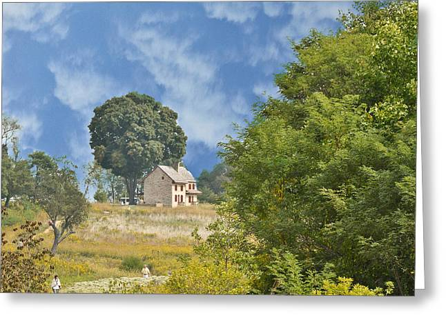 My Country Home Greeting Card by Trish Tritz