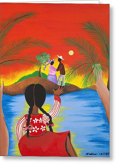 My Day Will Come Greeting Card by Patricia Sabree