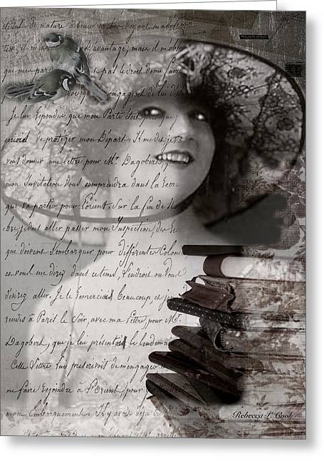 My Fair Lady Greeting Card by Bellesouth Studio