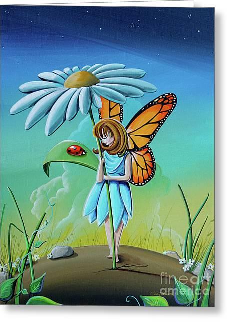 My Fair Lady #fairy Greeting Card by Cindy Thornton
